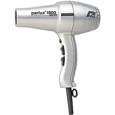 Parlux 1800 Eco Edition - Secador para el cabello, color plata