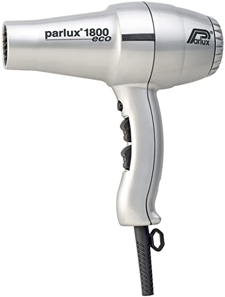 Parlux Hair Dryer 1800 - Secador de pelo, color plata