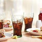 Libbey Coca-Cola Tumbler Glasses, Set of 6