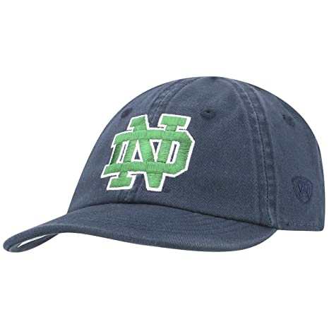 new concept e3a80 60972 Image Unavailable. Image not available for. Color  NCAA Notre Dame Fighting  Irish Infant Toddler Relaxed Fit Hat, Adjustable, Blue