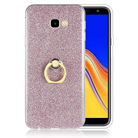 Amazon.com: for Samsung Galaxy J6 Plus 2018 Glitter Case ...