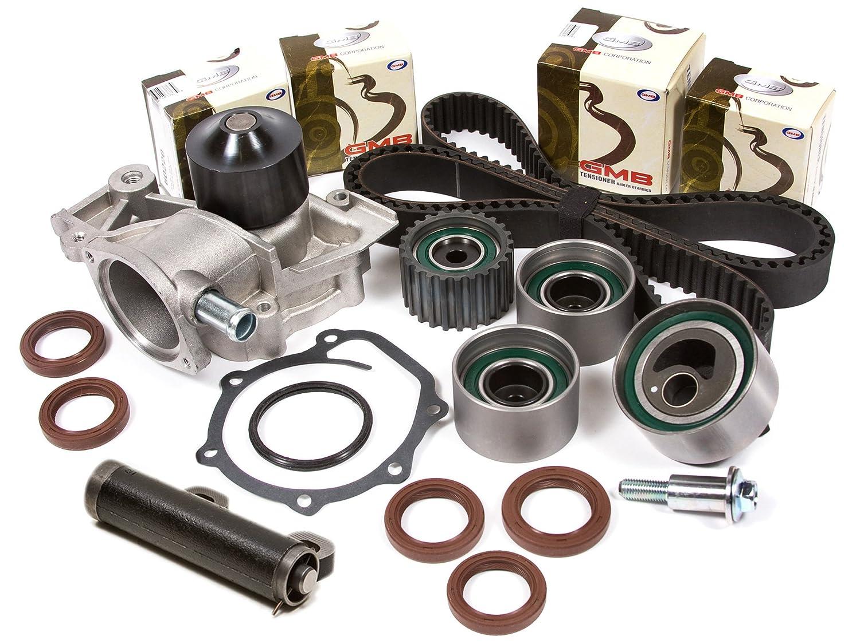 Evergreen TBK172AHWPT Fits Subaru EJ18 EJ22 90-Feb.97 Timing Belt Kit Water Pump
