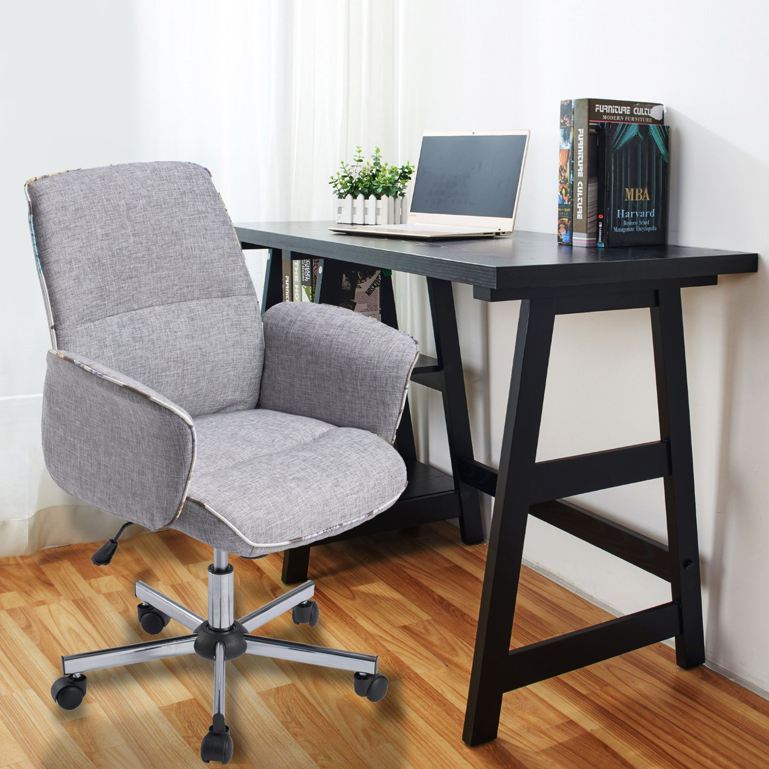 Amazon Home fice Chair Height Adjustable Task Chair Fabric