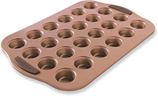 product image for Nordic Ware Freshly Baked Copper Mini Muffin Pan, 24 Cavity,Silver
