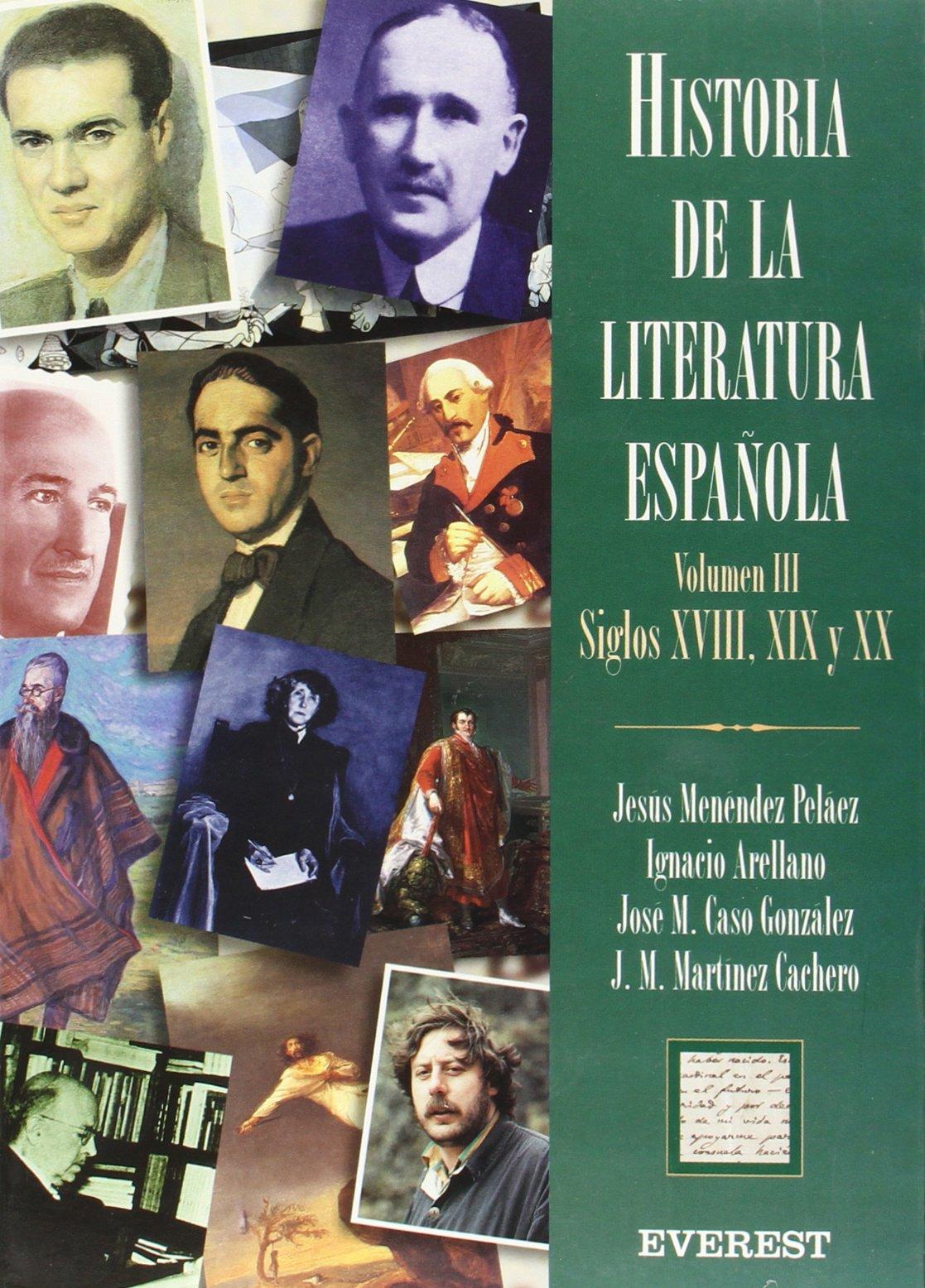 Historia de la Literatura Española Volumen III Época Contemporánea ...