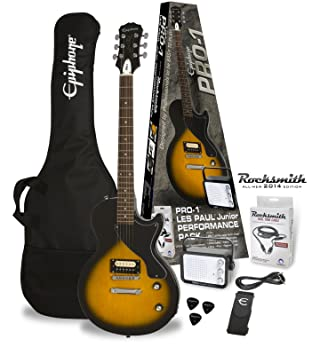 Epiphone Pro de 1 Les Paul Jr. Pack (Rock Smith)