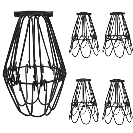 different lighting styles. SooFoo 4 Pack Black Metal Lamp Guard, Adjustable Cage Openings To Different  Styles,Industrial Different Lighting Styles