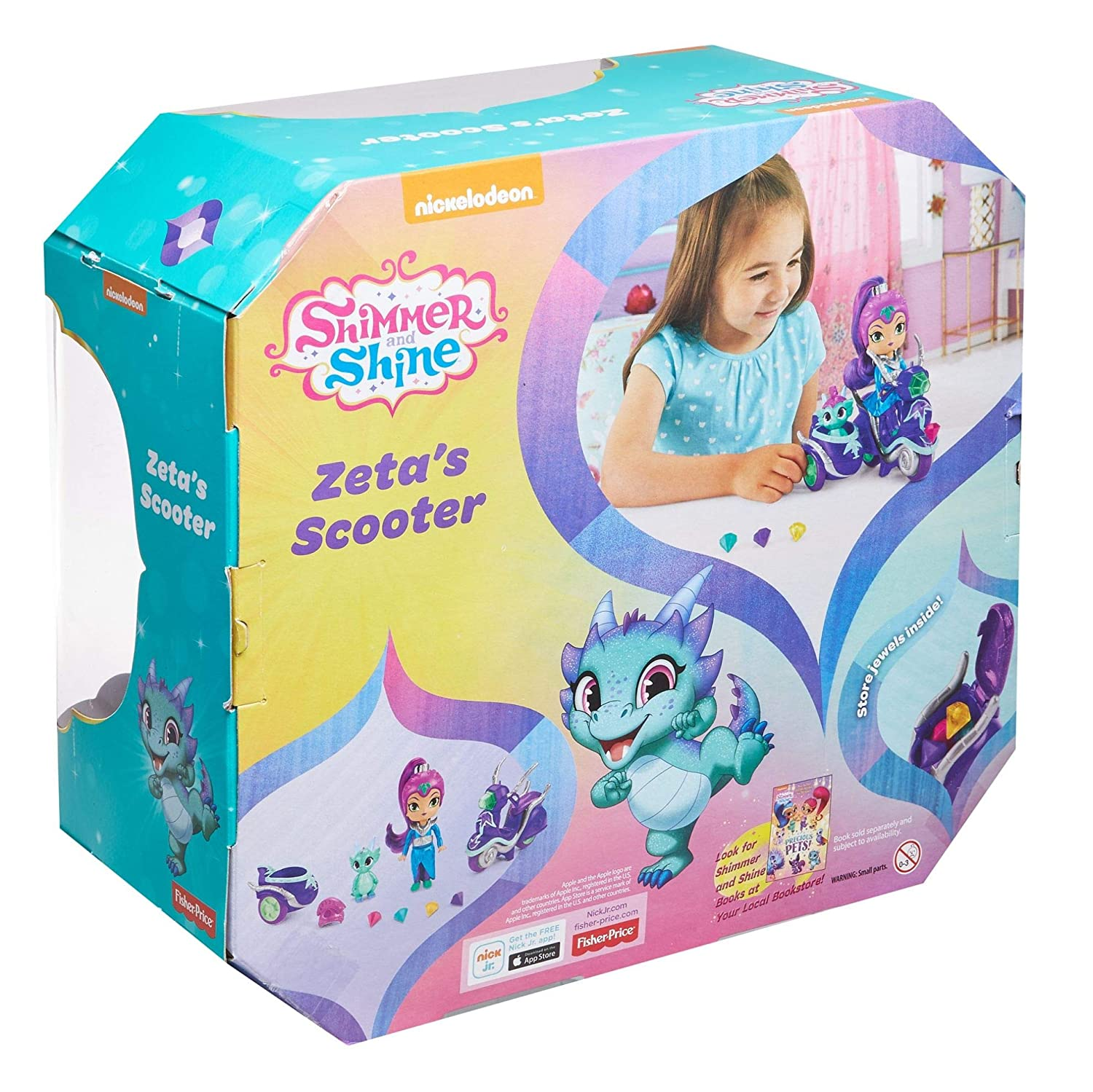 Shimmer And Shine FHN31 Zeta /'Scooter Jouet