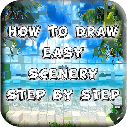 Scenery and Backgrounds Archives - How to Draw Step by ...