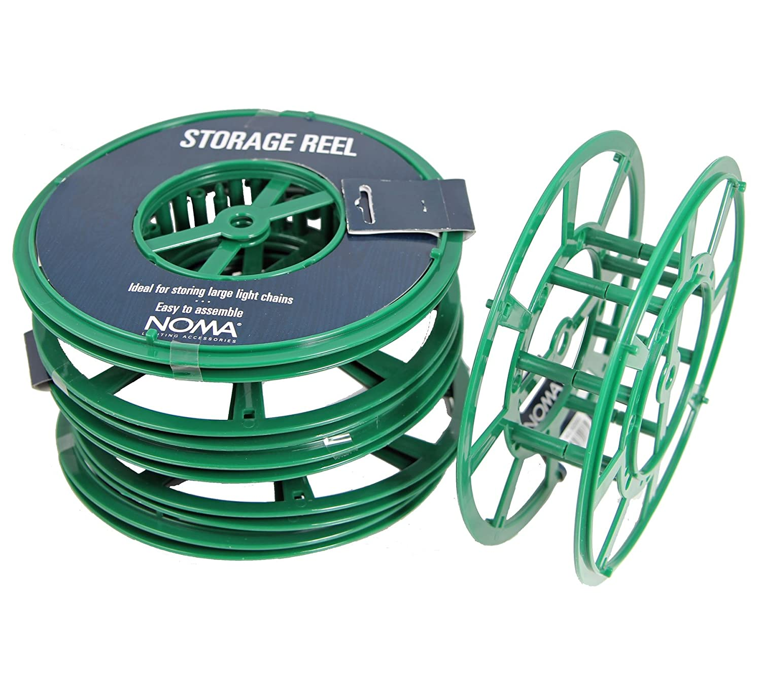 6x STORAGE REELS - Christmas lights, Rope lights, Extension cable ...