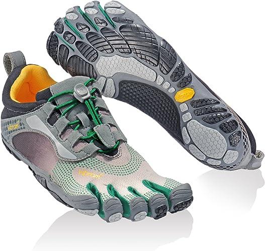 Vibram Fivefingers Escarpines Running 13W3503 Bikila LS Gris/Verde/Negro EU 36: Amazon.es: Zapatos y complementos