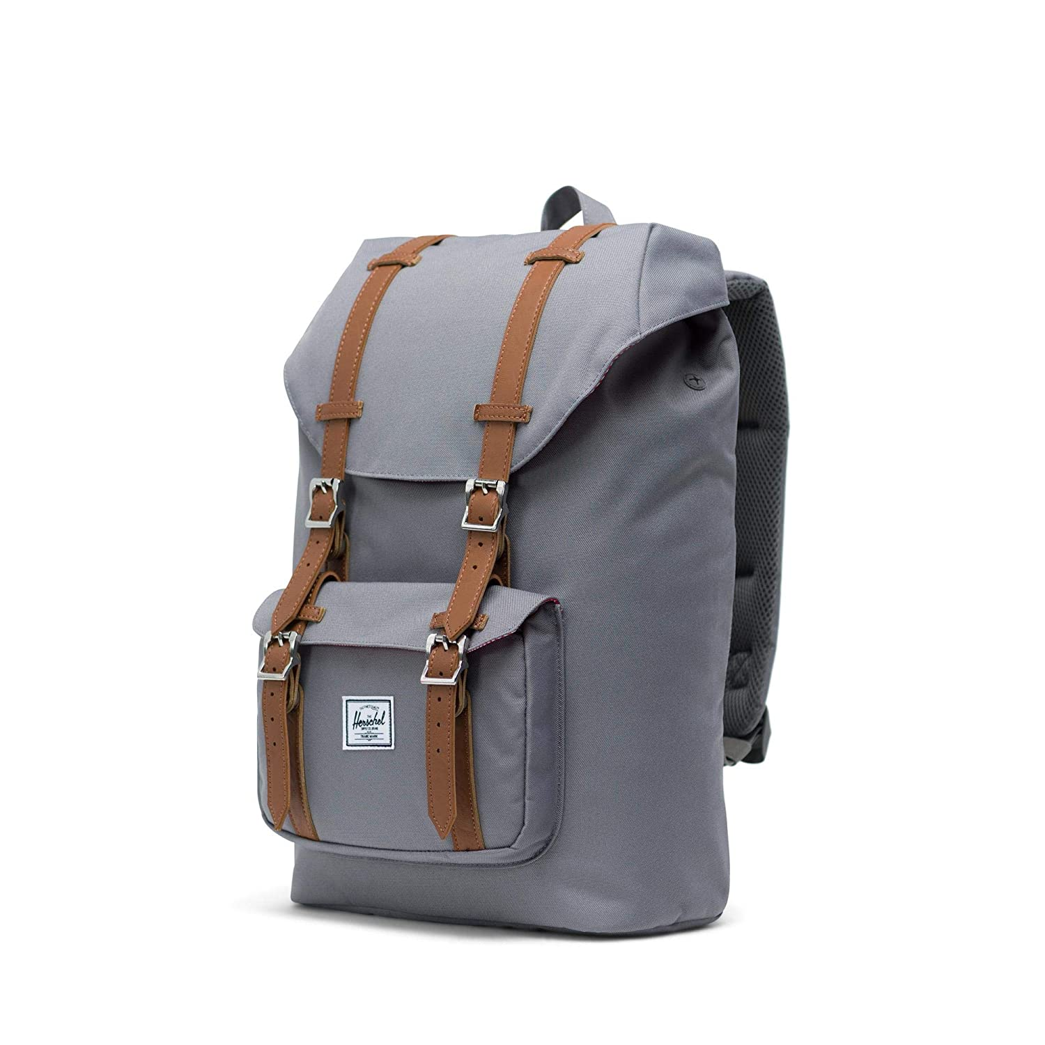39322ee08a3 Amazon.com | Herschel Little America Mid-Volume Backpack-Grey | Kids'  Backpacks