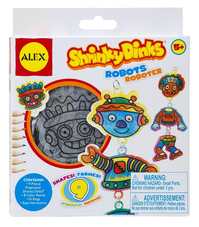 Shrinky Dinks Minis Robots