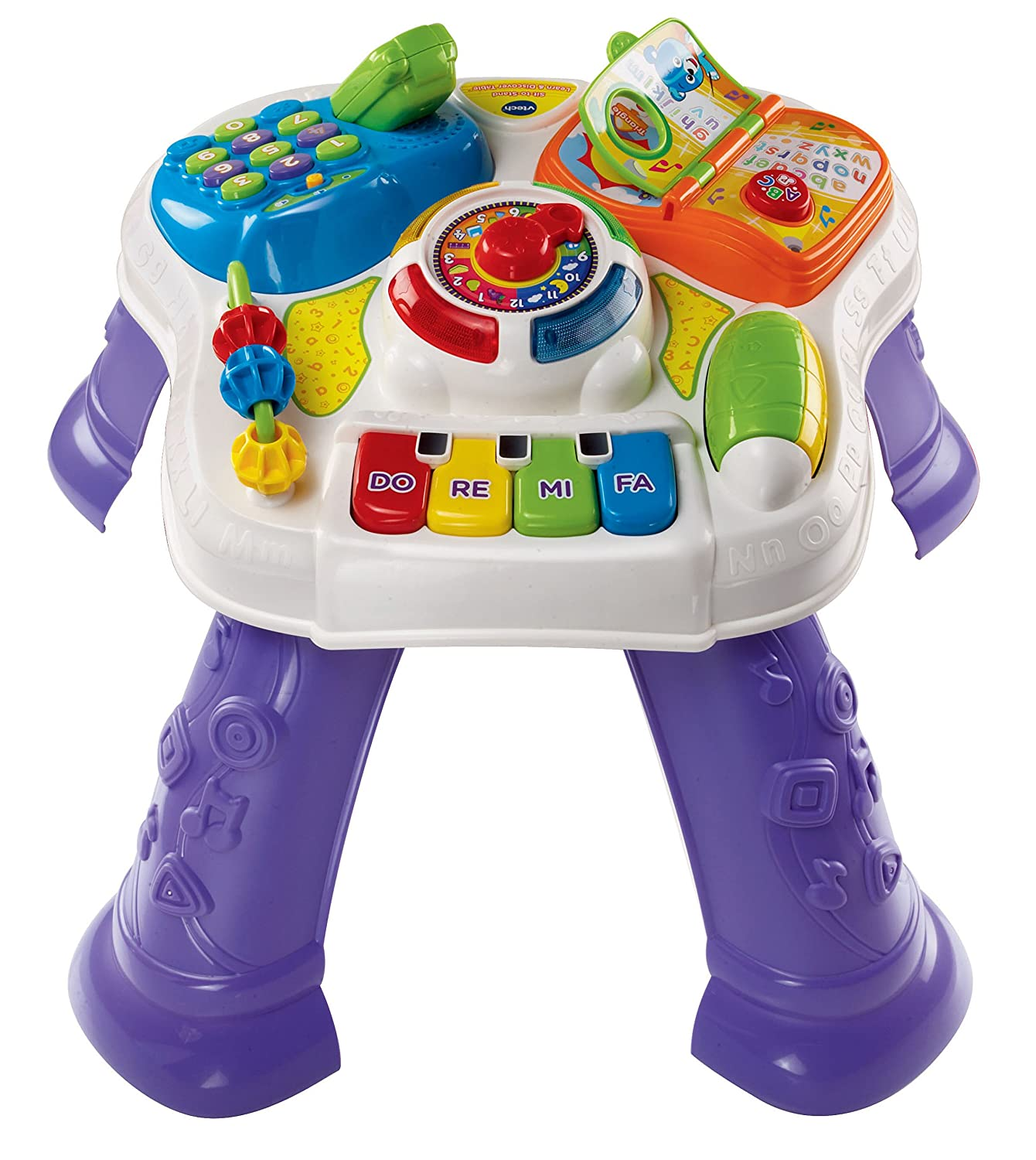 Amazon VTech Sit to Stand Learn and Discover Table Toys & Games