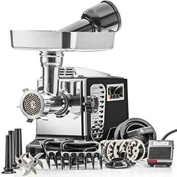 STX Turboforce II Platinum 2000W Electric Meat Grinder