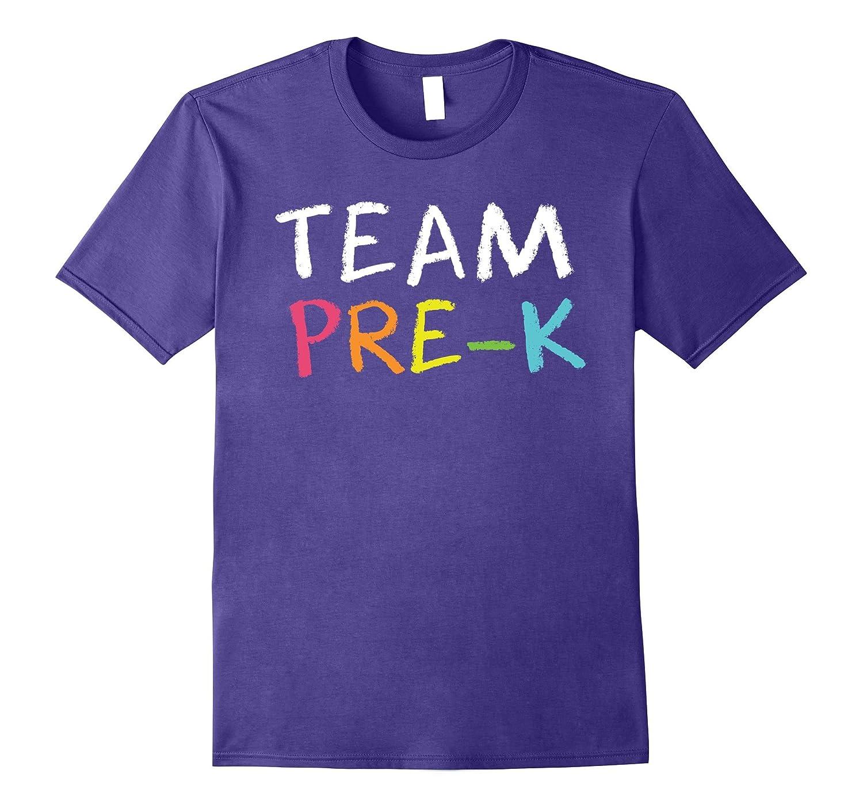 Team Pre-K Teacher - Back To School T-Shirt-BN