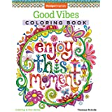 Good Vibes Coloring Book (Coloring is Fun) (Design Originals): 30 Beginner-Friendly & Relaxing Creative Art Activities; Posit