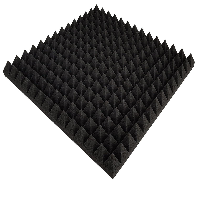 50x50x7cm Anthrazit Schwarz Noppenschaumstoff Schaumstoff Akustikschaumstoff 1 x ca
