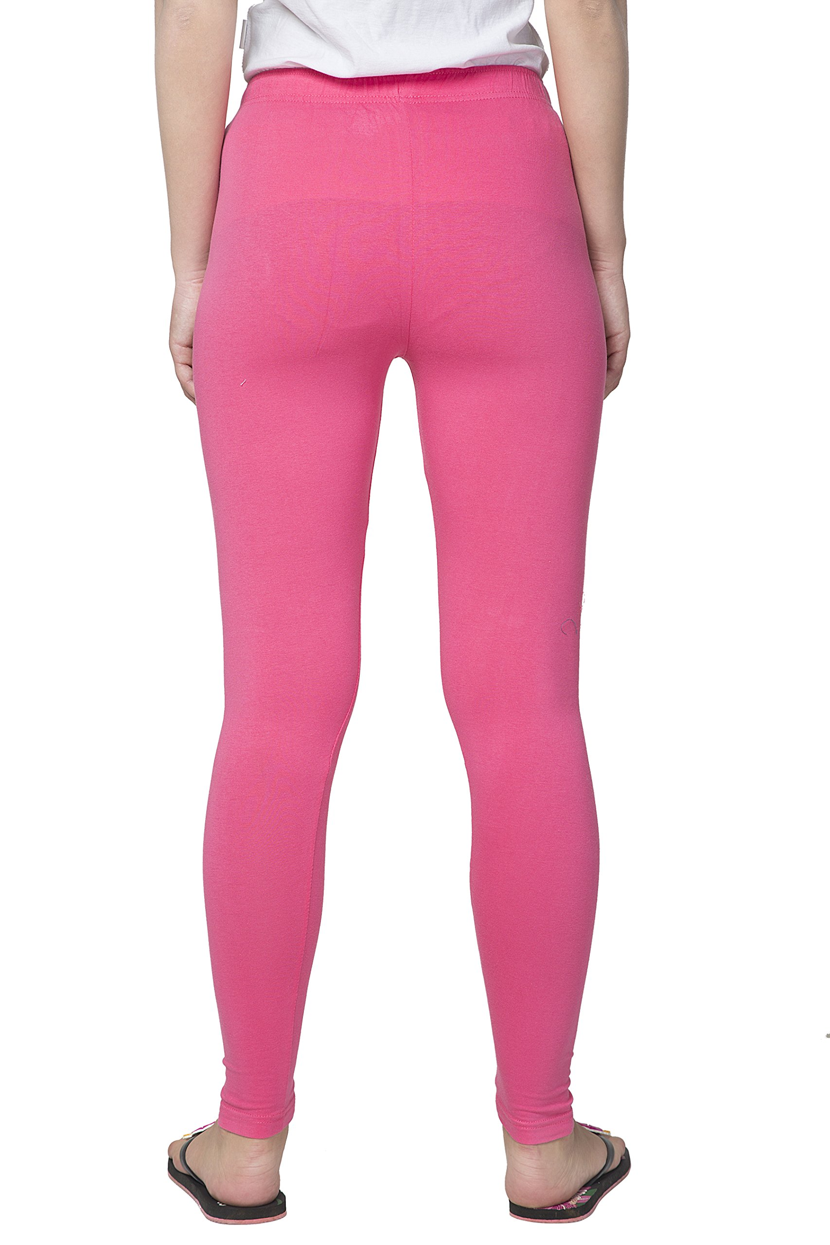 Clifton Women's Cotton Spandex Fine Jersey Leggings Pack Of 4-Assorted-2-XL by Clifton (Image #3)