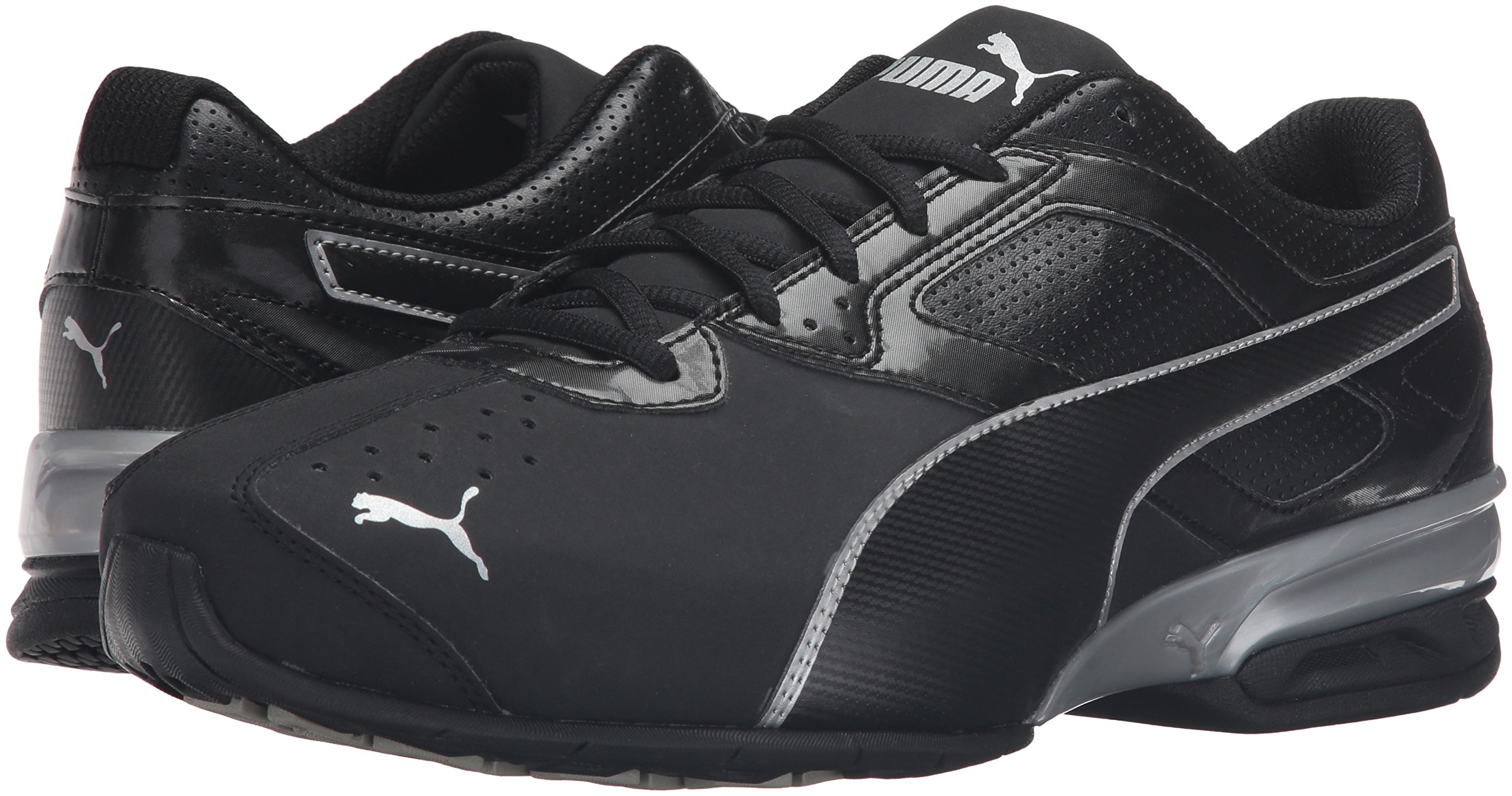 PUMA Men's Tazon 6 FM Puma Black/ Puma Silver Running Shoe - 8 D(M) US by PUMA (Image #6)