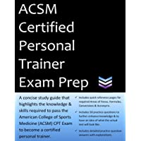 ACSM Certified Personal Trainer Exam Prep: 2020 Edition Study Guide that highlights the information required to pass the ACSM CPT Exam to become a Certified Personal Trainer.