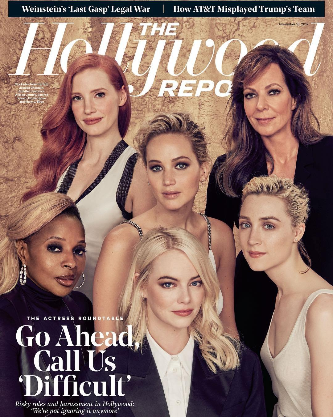 Download The Hollywood Reporter Magazine (November 15, 2017) The Actress Roundtable Issue ebook