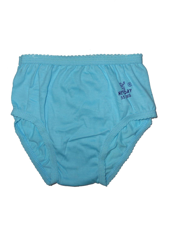 New Day Baby Girls' Cotton Panties Pack Of Ten Rohit Garments
