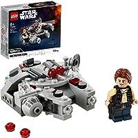 LEGO 75295 Star Wars Millennium Falcon Microfighter leksak med Han Solo-minifigur för 6-åriga pojkar och flickor