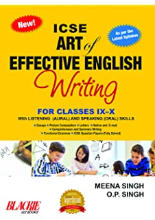 buy icse model english essays cbd book online at low prices in  icse art of effective english writing for classes ix  x