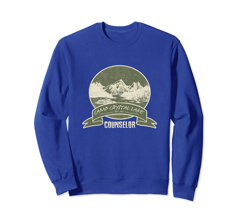 Crystal Lake Counselor Vintage Retro Style Gift Sweatshirt-ln