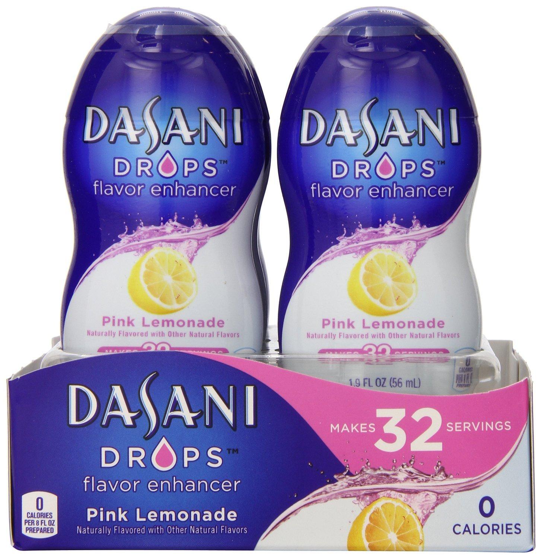 Dasani DROPS Pink Lemonade, 6 ct, 1.9 FL OZ Bottle