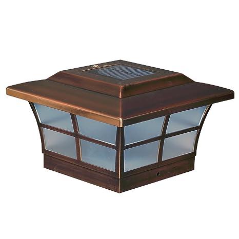 Classy caps sl086 6x6 prestige solar post cap copper pack of 2 classy caps sl086 6x6 prestige solar post cap copper pack of 2 aloadofball Images