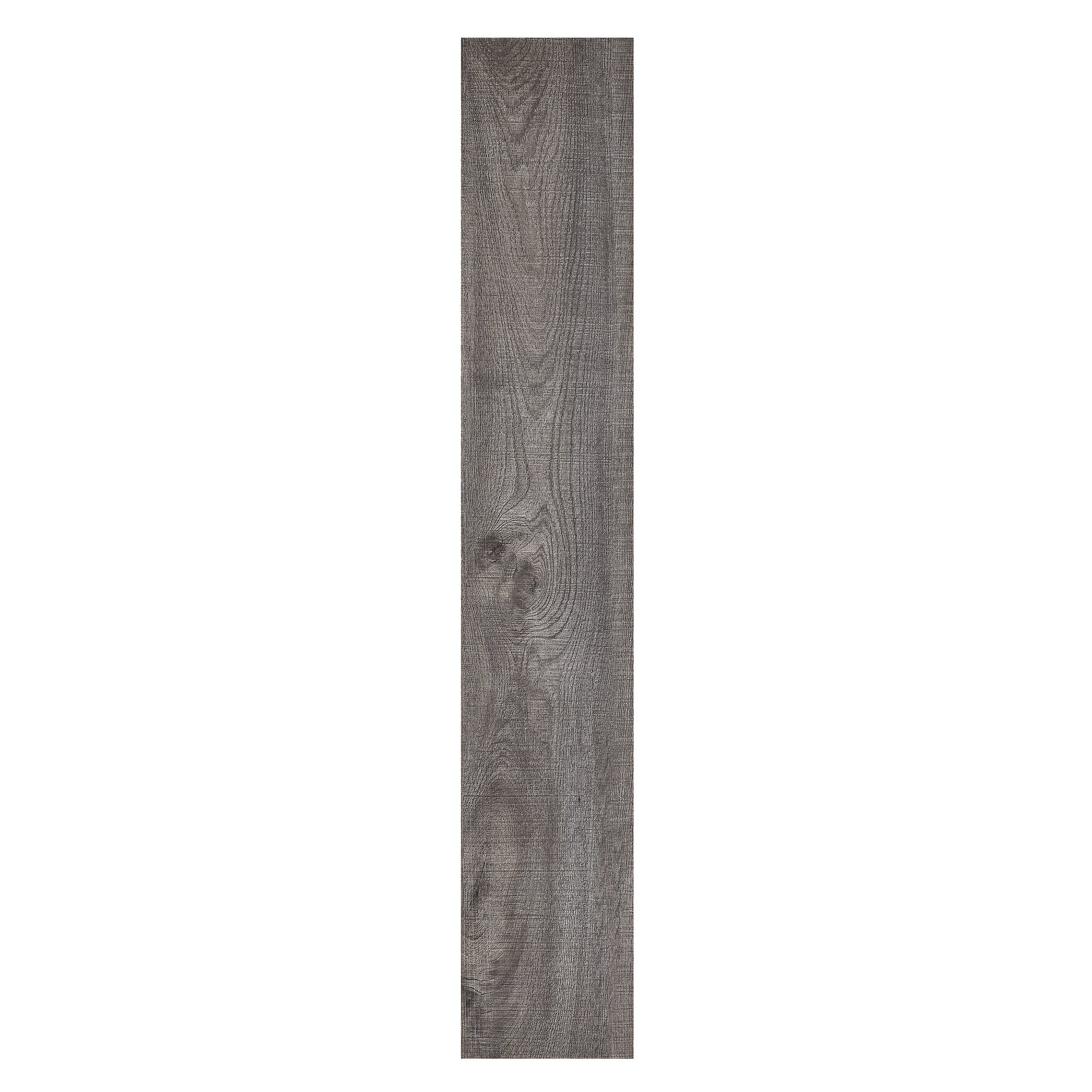 Achim Home Furnishings STP2.0RG10 2mm Sterling 10 Vinyl Planks, 6'' x 36'', Rustic Grey