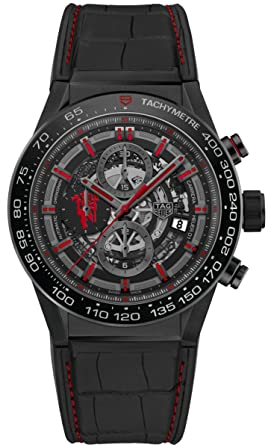 da7f7ec7a42 Image Unavailable. Image not available for. Color  TAG HEUER CARRERA  Calibre HEUER 01 ...