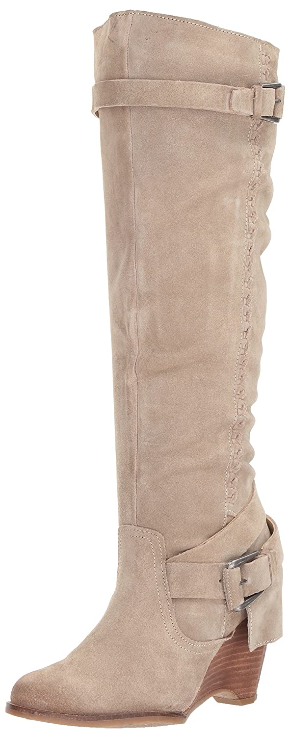 Naughty Monkey Women's Double up Slouch Boot B072BKGHTH 9 B(M) US|Taupe