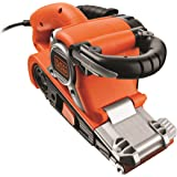 Black + Decker KA88 Ponceuse a bande action cyclonique 75 x 533 mm 720 W