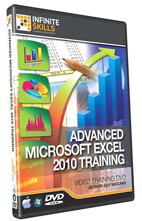 Advanced excel 2010 training dvd tutorial video: amazon. Co. Uk.