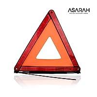 ASARAH Warndreieck KFZ unkompliziert einsetzbar für Unfälle und Pannen zu Ihrem Schutz und Sicherheit