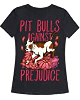 Pit Bulls Against Prejudice Womens Fitted Triblend Tee by LookHUMAN