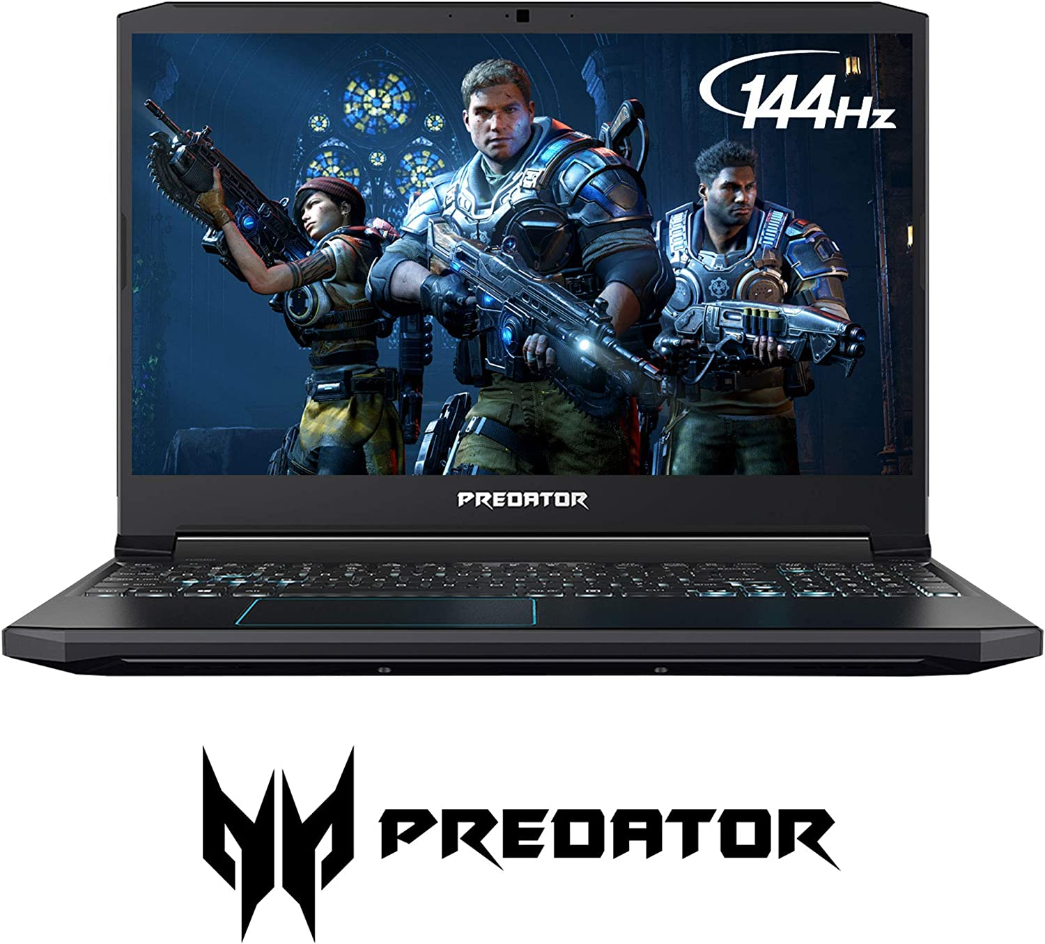 Acer Predator Helios 300 Gaming Laptop PC, 15.6 inches Full HD 144Hz 3ms IPS Display, Intel i7-9750H, GTX 1660 Ti 6GB, 16GB DDR4, 256GB PCIe NVMe SSD, Backlit Keyboard, PH315 (Renewed)