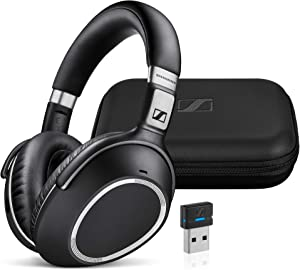 Sennheiser MB 660 UC (507092) - Dual-Connectivity, Wireless, Bluetooth, Foldable, Adaptive ANC Over-Ear Headset | For Desk/Mobile Phone & Softphone/PC Connection | UC Platform Compatibility (Black)