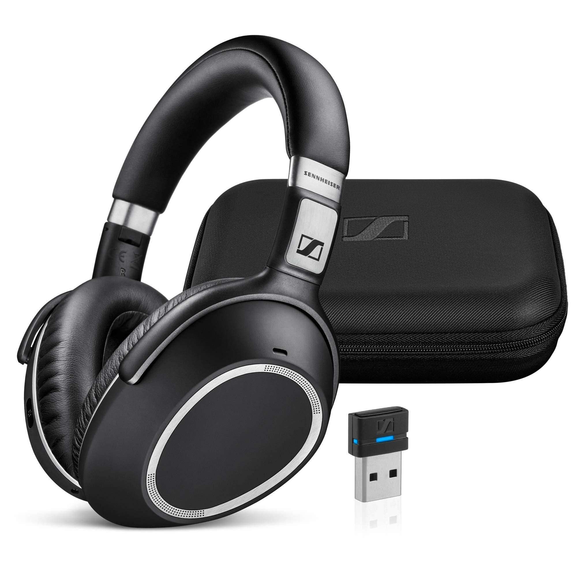Sennheiser MB 660 UC (507092) - Dual-Connectivity, Wireless, Bluetooth, Foldable, Adaptive ANC Over-Ear Headset | For Desk/Mobile Phone & Softphone/PC Connection | UC Platform Compatibility (Black) by Sennheiser Enterprise Solution
