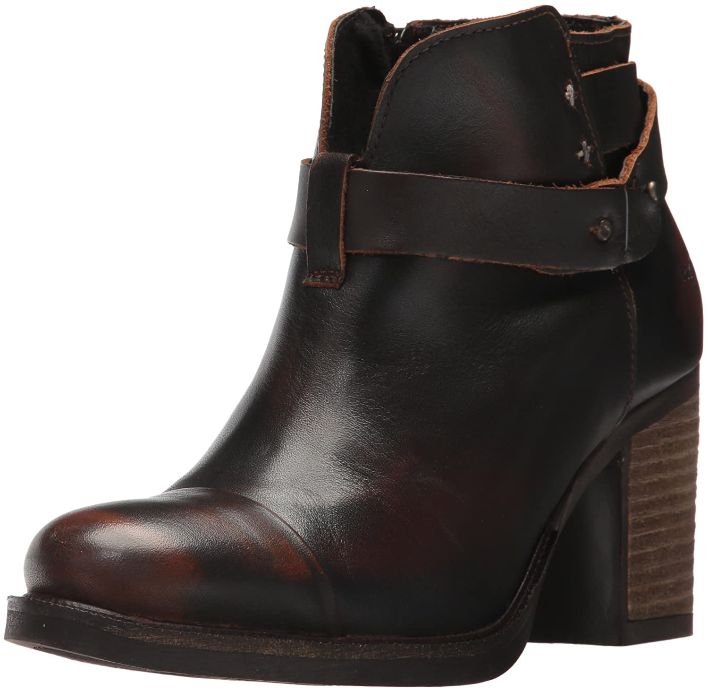 Bos. & Co. Women's Bonne Ankle Boot B06WWR4PR3 36 M EU (5.5-6 US) Cognac Batidune Leather