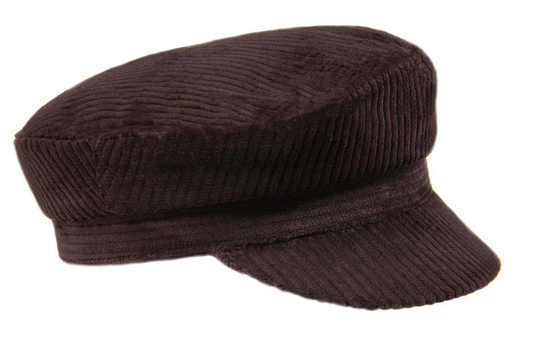 Classic Corduroy Mariner/Breton Cap, Corduroy Cap, Greek Fisherman Cap, Fiddler Cap, Sailors Cap, John Lennon Style Corduroy Cap