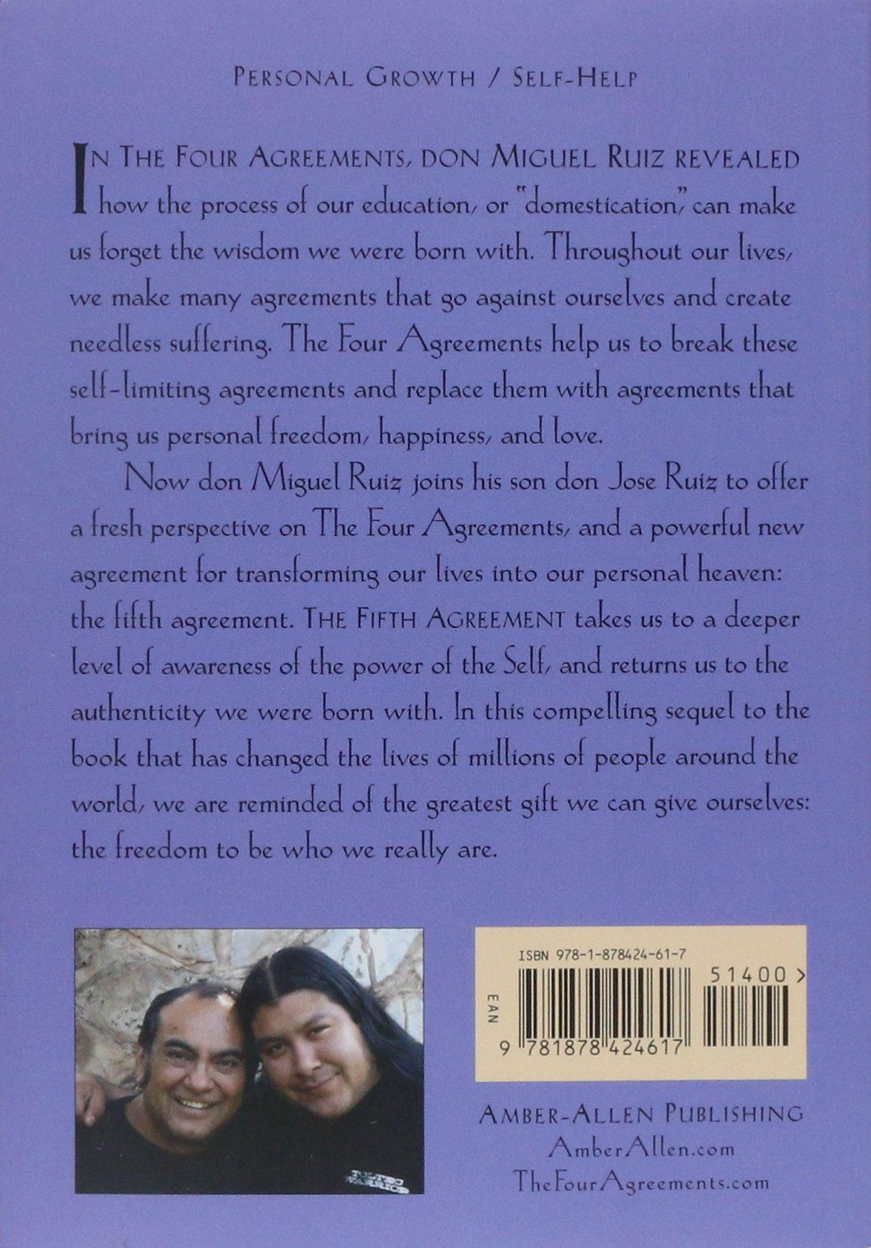 The Fifth Agreement A Practical Guide To Self Mastery Toltec
