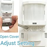 TOPGREENER TSOS5-White in Wall PIR Motion Sensor