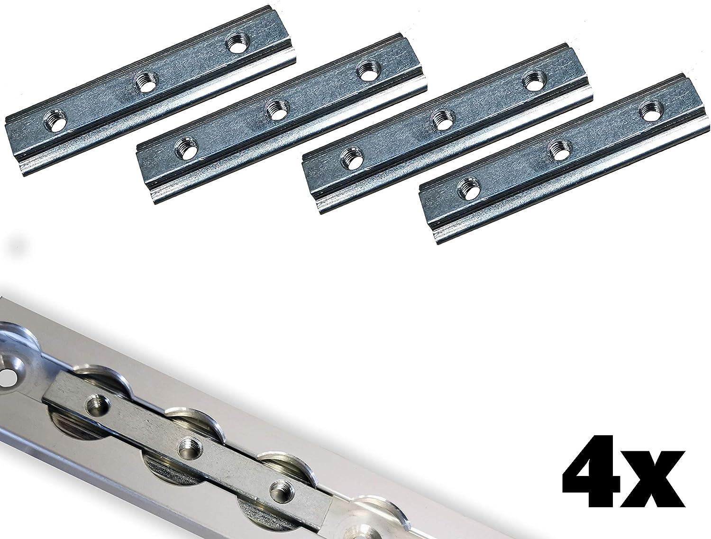 Ntg 4 X Nutenstein Für Airlineschienen Stahl Verzinkt M6 Ladungssicherung Fitting 3xm6 Auto