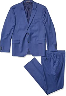 Tommy Hilfiger Mens Modern Fit Performance Suit with ...