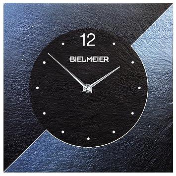 Bielmeier 300000 Wall Clock BHG 30 Airbrush Design, Blue by Bielmeier