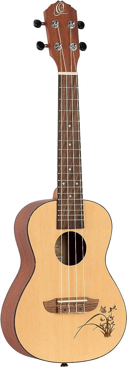 Ortega RFU11Z-L Ukul/él/é de concert pour gaucher avec housse